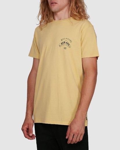 2 Straya Croc Short Sleeve Tee Yellow 9591073M Billabong