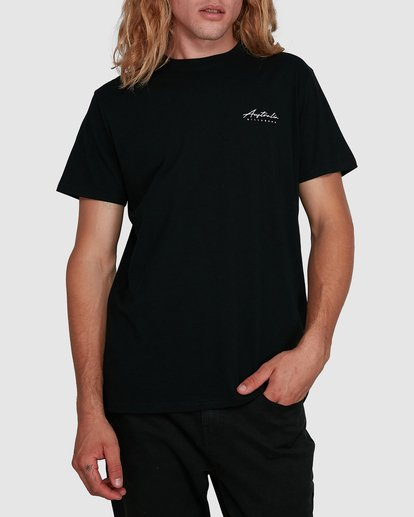 1 Swell Lines Short Sleeve Tee Black 9591074M Billabong