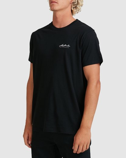 2 Swell Lines Short Sleeve Tee Black 9591074M Billabong