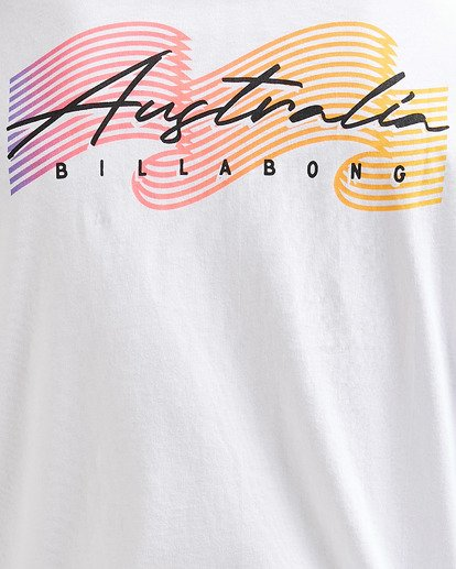 5 Swell Lines Short Sleeve Tee White 9591074M Billabong