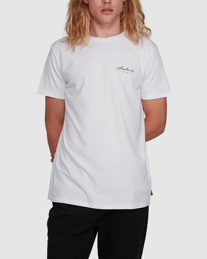 1 Swell Lines Short Sleeve Tee White 9591074M Billabong