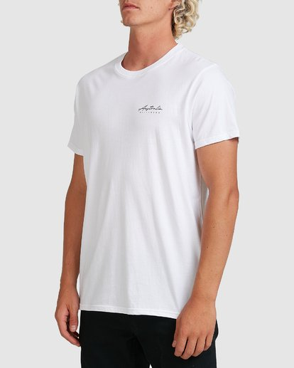 2 Swell Lines Short Sleeve Tee White 9591074M Billabong