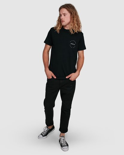 8 Balance Short Sleeve Tee Black 9591080M Billabong