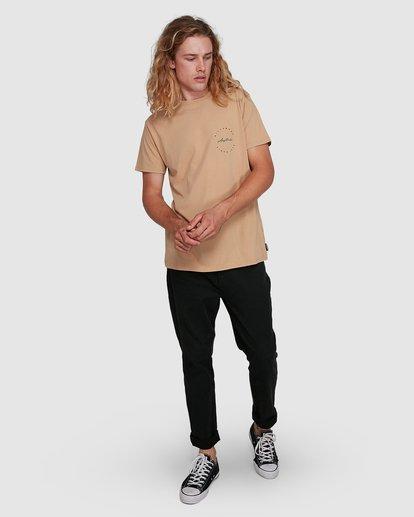 8 Balance Short Sleeve Tee Beige 9591080M Billabong