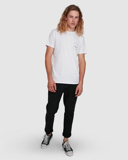 8 Balance Short Sleeve Tee White 9591080M Billabong