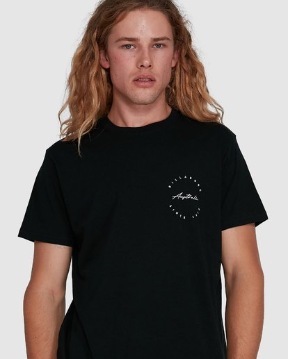 4 Balance Short Sleeve Tee Black 9591080M Billabong