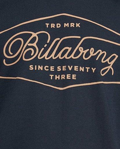 4 Trademark Tee Blue 9591100X Billabong