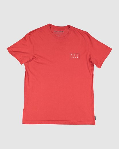 6 Die Cut Tee Red 9591104X Billabong