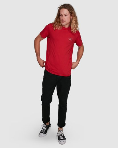 8 Die Cut Tee Red 9591104X Billabong