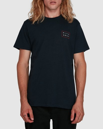 0 Die Cut Tee Blue 9591104X Billabong