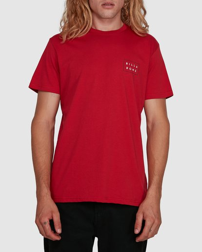 0 Die Cut Tee Red 9591104X Billabong