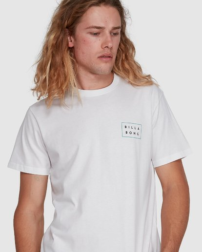 4 Die Cut Tee White 9591104X Billabong