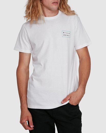 1 Die Cut Tee White 9591104X Billabong