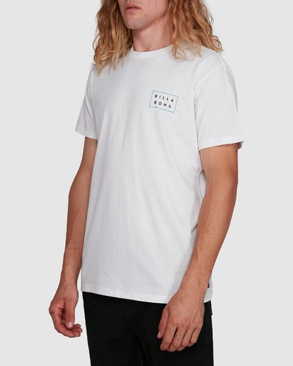 2 Die Cut Tee White 9591104X Billabong