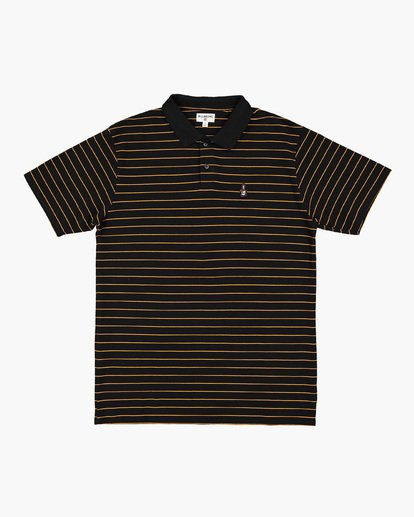 4 Pique Emb Stripe Black 9591144 Billabong