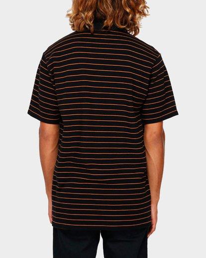 3 Pique Emb Stripe Black 9591144 Billabong