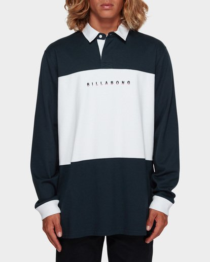 0 THICC BOSS LONG SLEEVE POLO Blue 9591156 Billabong