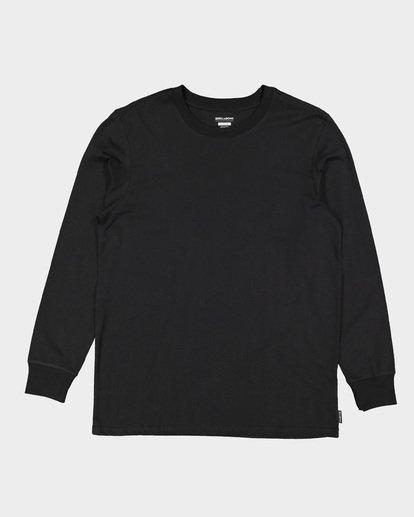 4 Larry Layerer Long Sleeve Tee Black 9591174 Billabong