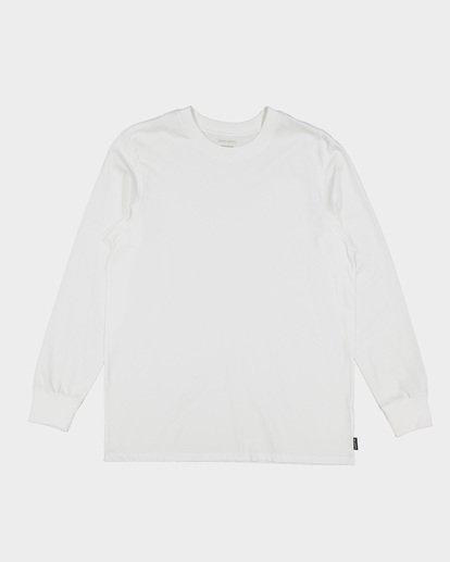 4 Larry Layerer Long Sleeve Tee White 9591174 Billabong