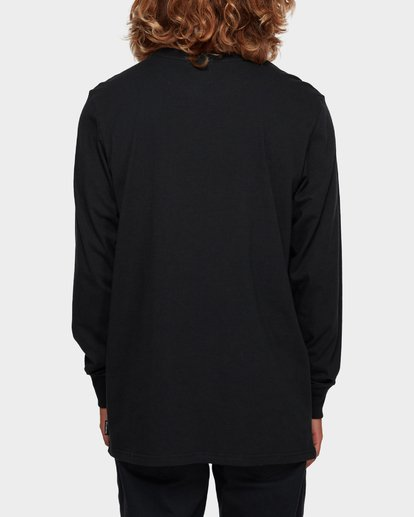 3 Larry Layerer Long Sleeve Tee Black 9591174 Billabong