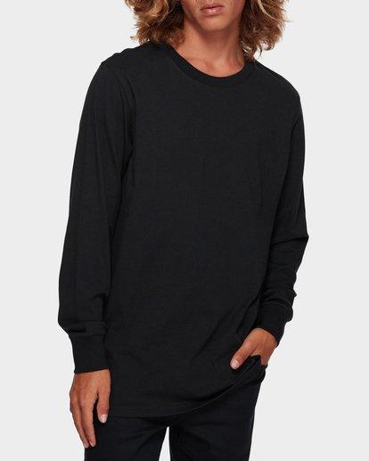 1 Larry Layerer Long Sleeve Tee Black 9591174 Billabong