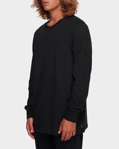 2 Larry Layerer Long Sleeve Tee Black 9591174 Billabong