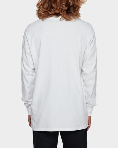 3 Larry Layerer Long Sleeve Tee White 9591174 Billabong