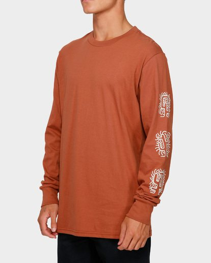 2 CACTUS LONG SLEEVE TEE Green 9591177 Billabong