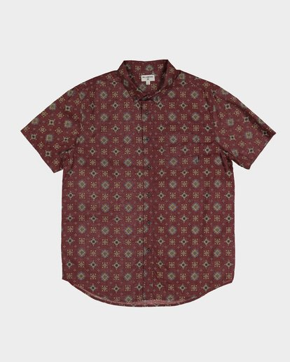 4 Sundays Mini Short Sleeve Shirt Red 9591210 Billabong