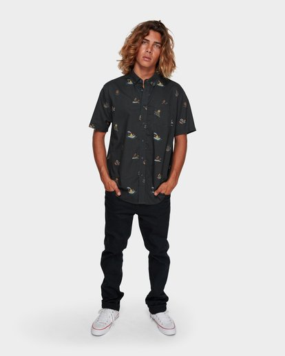 5 SUNDAYS MINI SHORT SLEEVE SHIRT Black 9591210 Billabong