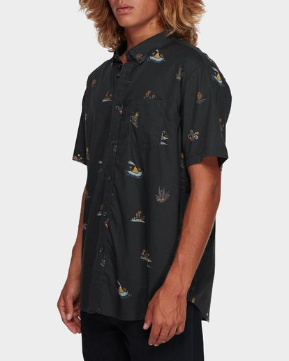 2 SUNDAYS MINI SHORT SLEEVE SHIRT Black 9591210 Billabong
