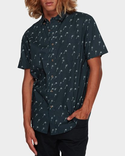1 SUNDAYS MINI SHORT SLEEVE SHIRT Blue 9591210 Billabong