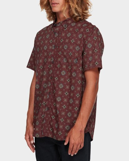 2 SUNDAYS MINI SHORT SLEEVE SHIRT Red 9591210 Billabong