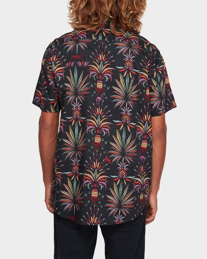 3 SUNDAYS FLORAL SHORT SLEEVE SHIRT Black 9591211 Billabong