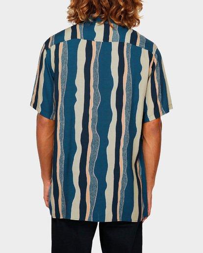 3 SUNDAYS HALFWAY SHORT SLEEVE SHIRT Blue 9591215 Billabong