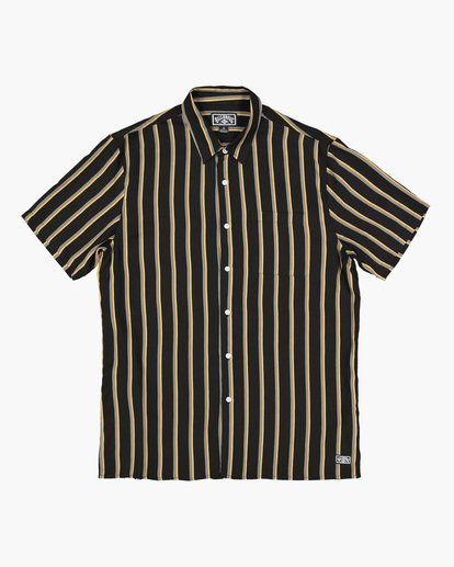 4 SUNDAYS STRIPE SHIRT Black 9591216 Billabong