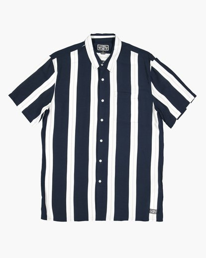 4 SUNDAYS STRIPE SHIRT Blue 9591216 Billabong