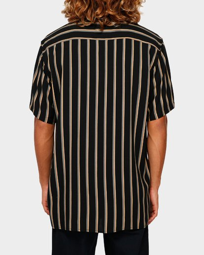3 SUNDAYS STRIPE SHIRT Black 9591216 Billabong