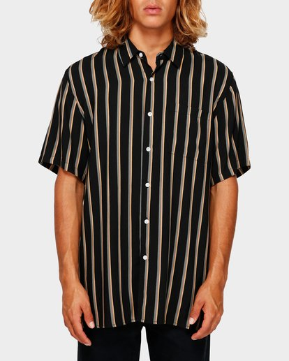 1 SUNDAYS STRIPE SHIRT Black 9591216 Billabong
