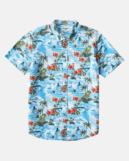5 SUNDAYS HAWAII SHIRT Blue 9591221M Billabong