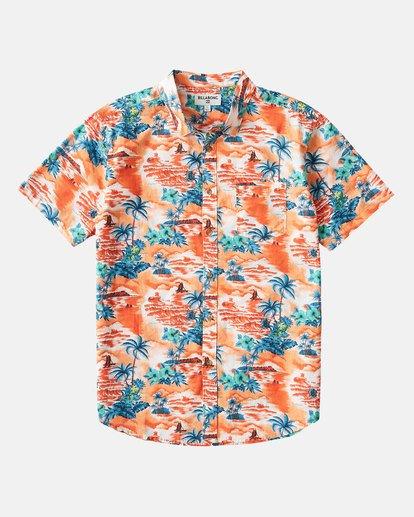 5 SUNDAYS HAWAII SHIRT Orange 9591221M Billabong