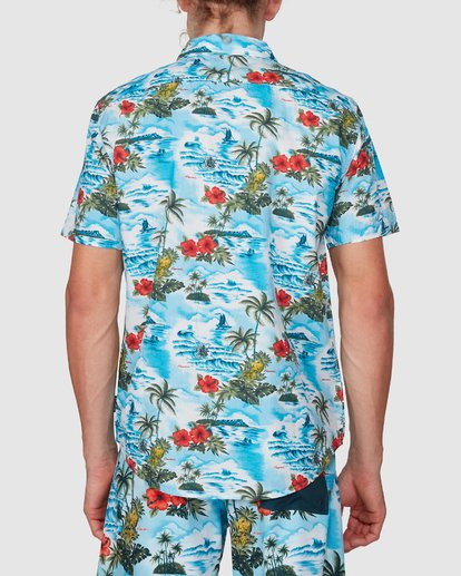 2 SUNDAYS HAWAII SHIRT Blue 9591221M Billabong