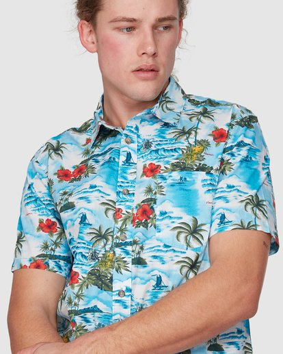 3 SUNDAYS HAWAII SHIRT Blue 9591221M Billabong