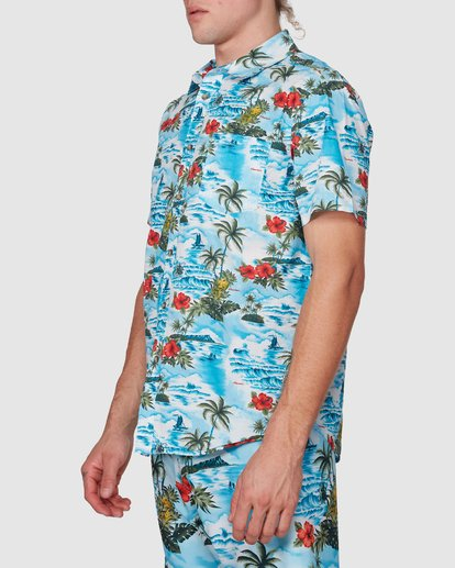 1 SUNDAYS HAWAII SHIRT Blue 9591221M Billabong