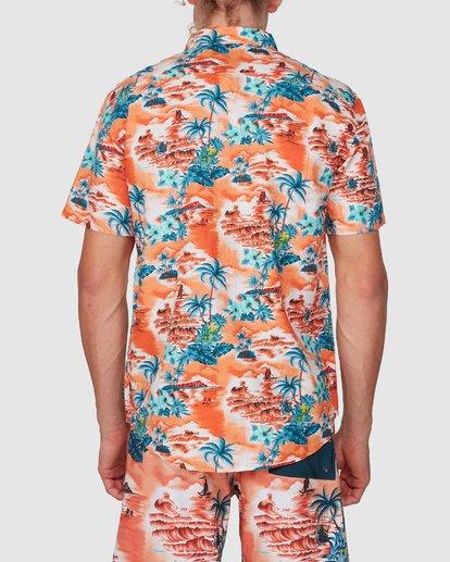 2 SUNDAYS HAWAII SHIRT Orange 9591221M Billabong
