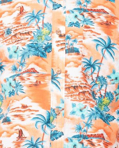 4 SUNDAYS HAWAII SHIRT Orange 9591221M Billabong