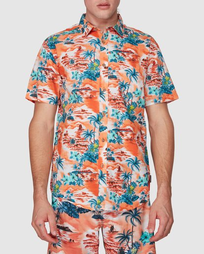0 SUNDAYS HAWAII SHIRT Orange 9591221M Billabong