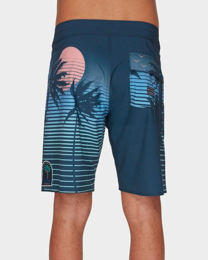 "5 DBAH AIRLITE 19"" BOARDSHORT Blue 9591402 Billabong"