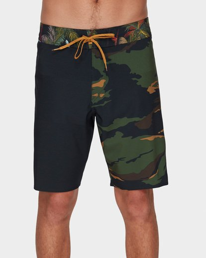 "2 DBAH AIRLITE 19"" BOARDSHORTS Green 9591402 Billabong"