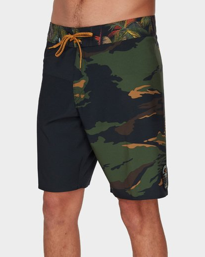 "3 DBAH AIRLITE 19"" BOARDSHORTS Green 9591402 Billabong"